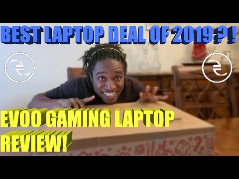 """Best Laptop Deal Of 2019? - Walmart EVOO Gaming Laptop 17.3"""" RTX 2060 I7-9750H - Laptop Review"""