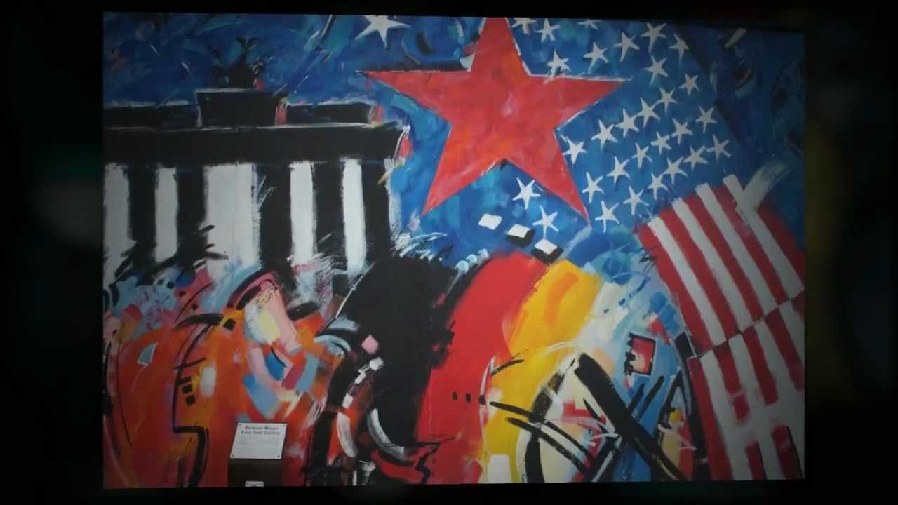 Graffitis del muro de Berlín en East Side Gallery , Berlín Wall
