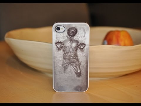Han Solo in Carbonite Case for the iPhone 4/4s