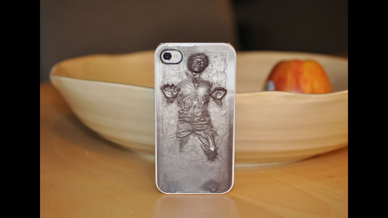 half off 77bd0 9b49b Han Solo in Carbonite Case for the iPhone 4/4s