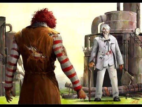 Ronald Mc Donald vs Colonel Sanders
