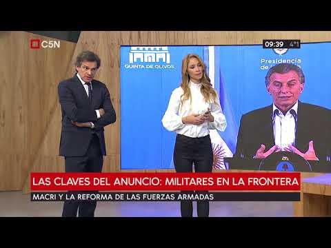 Mauricio Macri anuncia la reforma del Sistema de Defensa Nacional