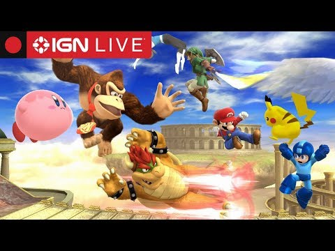 Super Smash Brothers Wii U IGN Tournament