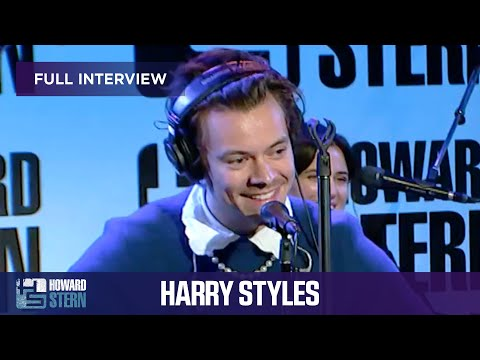 Harry Styles on the Howard Stern Show (FULL Interview)