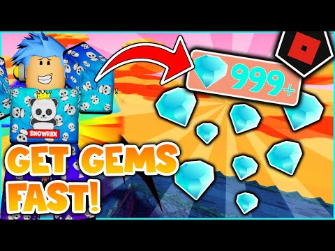 HOW TO GET GEMS FAST ON ALL STAR TOWER DEFENSE| Roblox