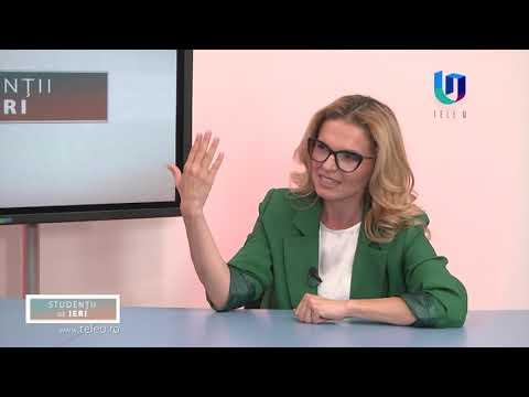 TeleU: Florin Ciocan la emisiunea Studenții de ieri cu Silvia Gherasim