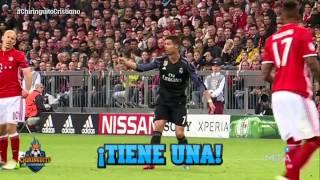 El seguimiento exclusivo a Cristiano Ronaldo ante el Bayern