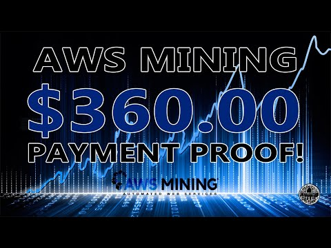 AWS Mining How To Withdraw BitCoin - $360.00 In Seconds!