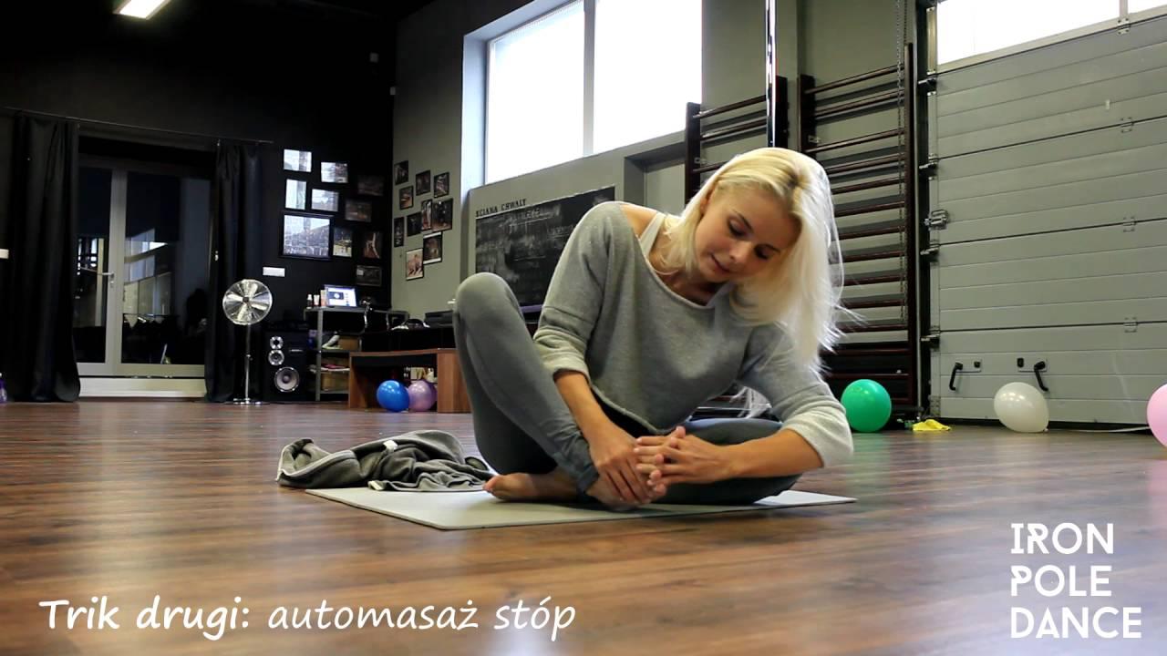 Jak się rozciągać - pole dance - triki i instrukcja