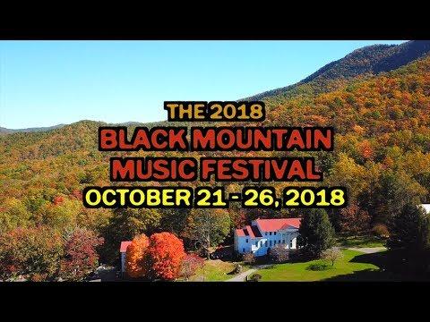 2018 Black Mountain Music Festival - 2nd Promo