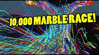 A marble race not for wimps. This is extreme baby. This is the Epic...