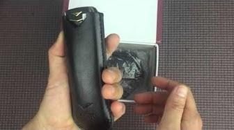Trải Nghiệm đánh giá mở hộp review Điện thoại Vertu A8