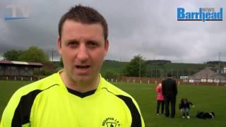 Neilston boss Whiteford enjoys testimonial