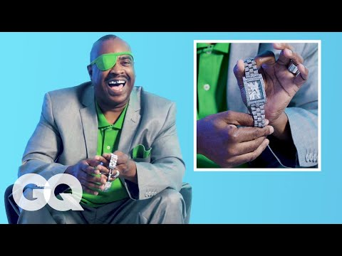 Slick Rick Shows Off His Jewelry Collection