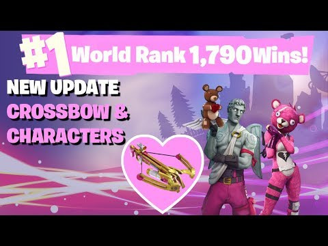 #1 World Ranked 1,790 Solo Wins - GTX 1080TI and 20,000 vbucks giveaway