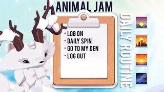 My Daily Animal Jam Routine ☼