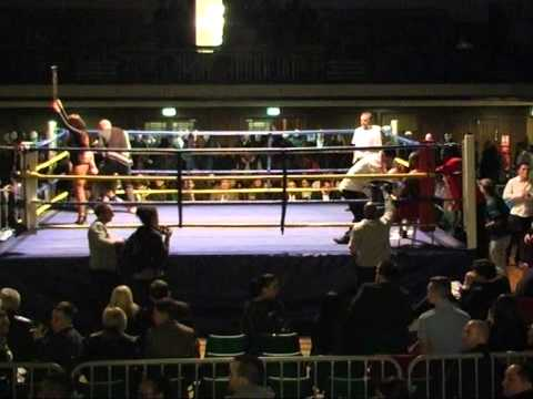 Vaidas Balciauskas vs Manny Muhammad. 2014.03.01 York Hall. London.
