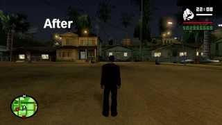 GTA SA: SilentPatch - Shader-based Night Vertex Colours