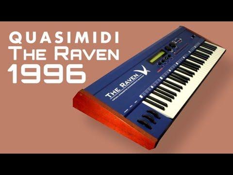 QUASIMIDI THE RAVEN MAX Synthesizer 1996 | HD DEMO