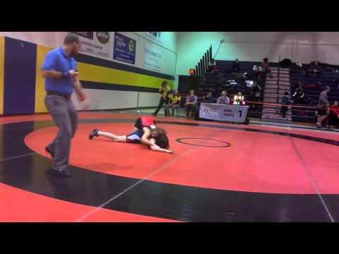 2014 Ontario Juvenile Championships: 52 kg Maddison Braga vs. Sofia Liantzakis