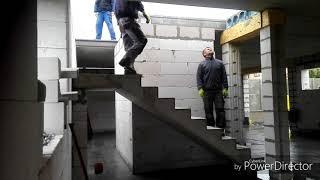Pokladka panelů a schodů