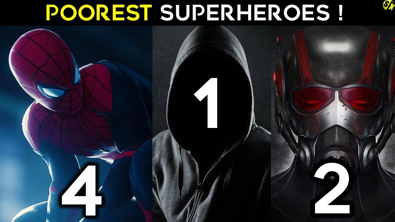 Download Poorest Superheroes In Marvel   SpiderMan Is Poor Explained In Hindi