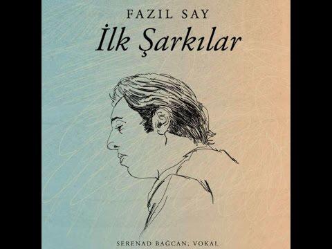 Fazıl Say & Serenad Bağcan - Düşerim / Metin Altıok (Lyric) (Official audio) #adamüzik