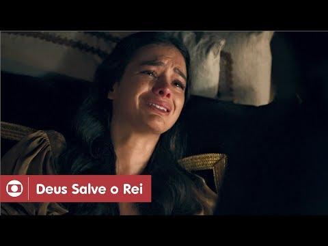 Deus Salve O Rei: capítulo 111 da novela, quinta, 17 de maio, na Globo