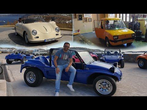 Τρία Ελληνικά οχήματα που κυκλοφορούν στις Κυκλάδες    JET TOUR GREECE    #09