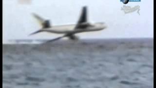 Видео падение самолета в океан(Видео падения пассажирского самолета в океан., 2013-08-24T13:51:08.000Z)