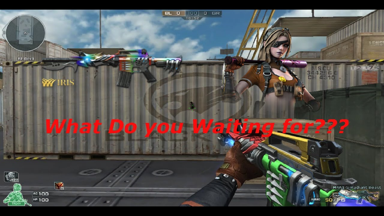 Crossfire na uk 2 0 new update m4a1 radiant beast - Subject alpha cf ...