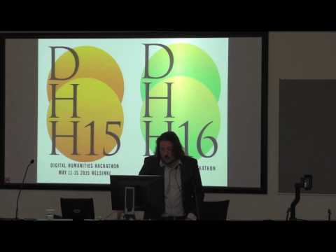Digital Humanities and Open Science - Mikko Tolonen