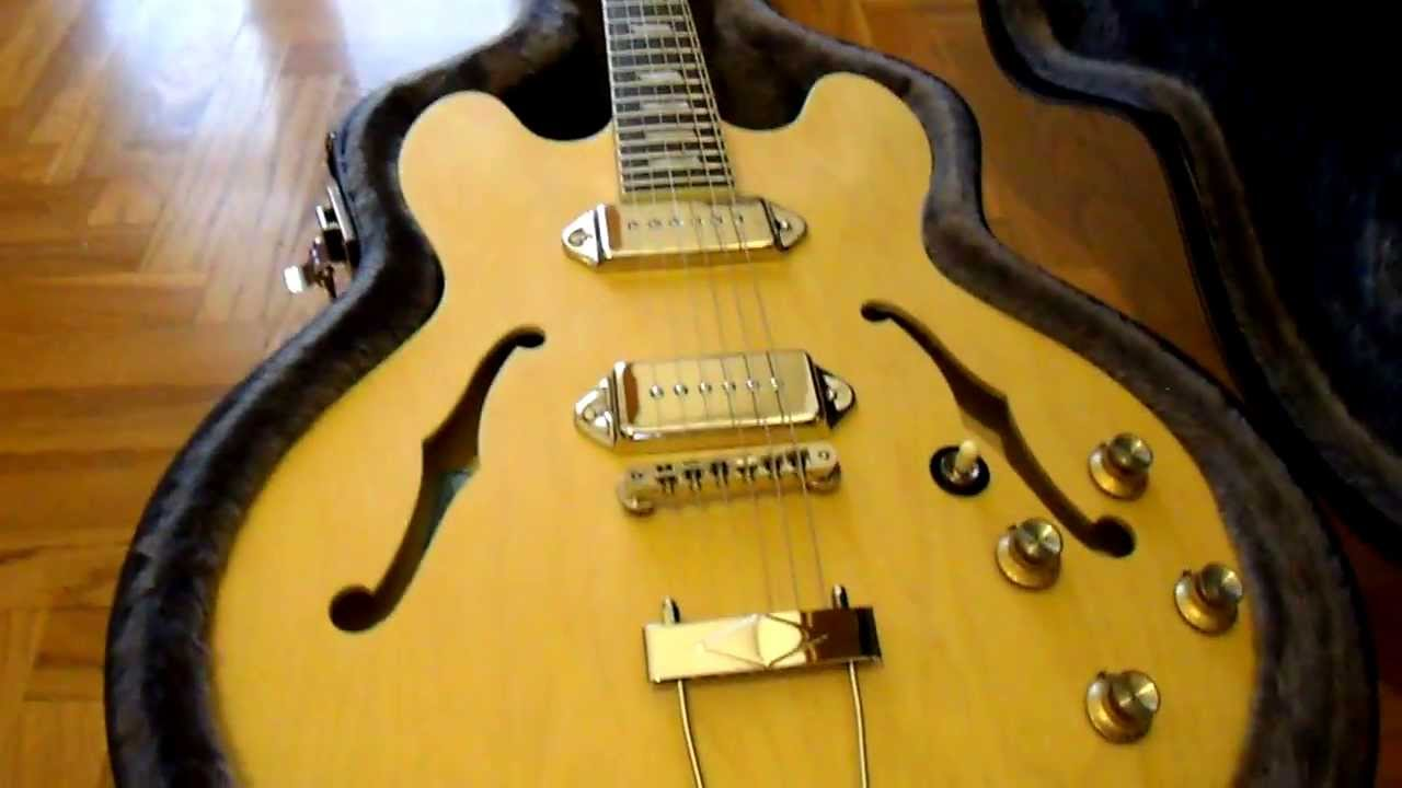 epiphone inspired by john lennon casino