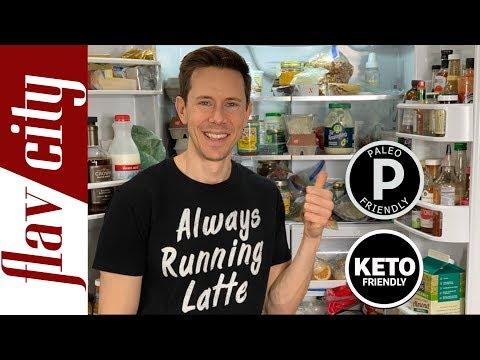 What's In My Fridge For A Healthy Keto & Paleo Lifestyle - Fridge Tour! thumbnail