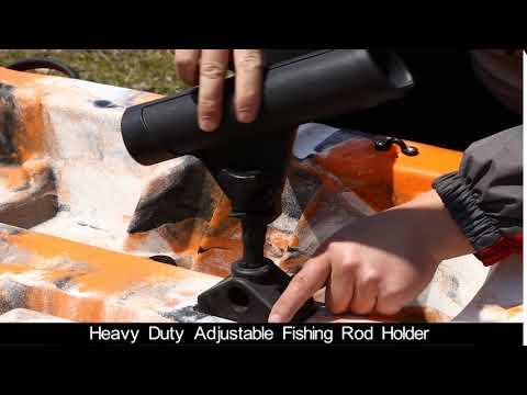 Part6:Heavy Duty Adjustable Fishing Rod Holder