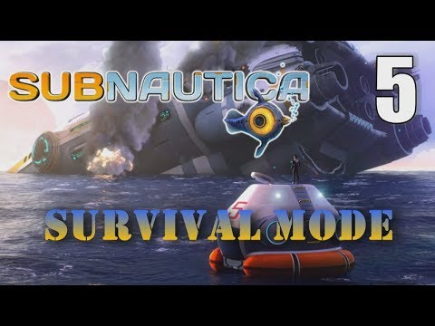 SEAGLIDE RACE TO LIFEPOD RADIO MESSAGES - Subnautica Survival [05] Let's Play Walkthrough - Part 5