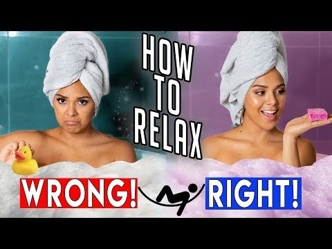 How to RELAX Your Mind & Body! DIY Hacks for Stress & Anxiety!