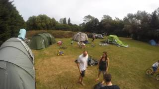 Setting Up Camp Saxmundham 2016