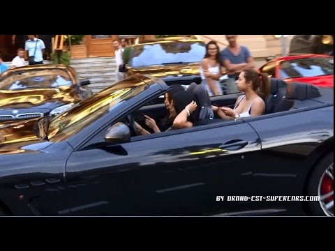 Many GIRLS Driving Supercars In Monaco
