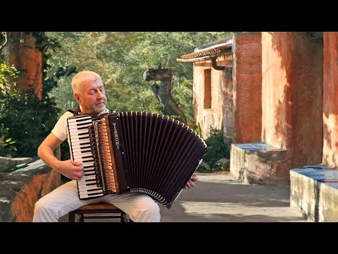 IL POSTINO  POSTMAN  MI MANCHERAI  Italian accordion music film   Musica fisarmonica Akkordeon