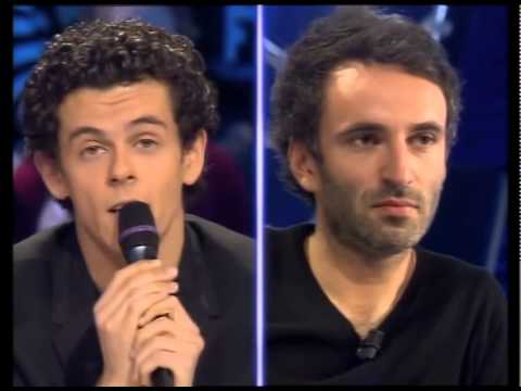 michael gregorio vincent delerm on n 39 est pas couch 2 d cembre 2006 onpc youtube. Black Bedroom Furniture Sets. Home Design Ideas