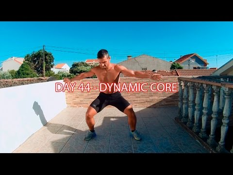 DAY 44 - 25 MIN FAT BURNER WORKOUT - DYNAMIC CORE