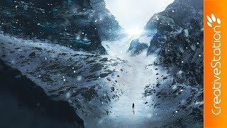 Mountain Passage - Speed art (#Photoshop) | CreativeStation