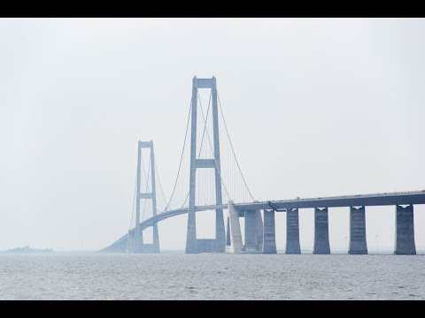 Storebæltsbroen E20 Slagelse - Nyborg
