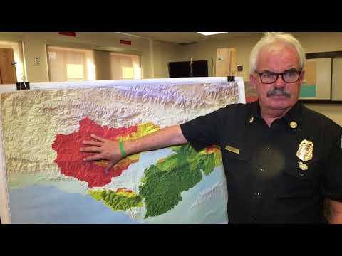 Santa Barbara Police & Fire Spanish Language Interview for #ThomasFire