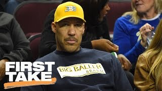 LaVar Ball Stroking His Ego With His LeBron James Comments First Take March 22, 2017