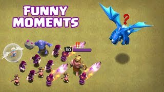 Clash of Clans Funny Moments Montage | COC Glitches, Fails, Wins, and Troll Compilation #23