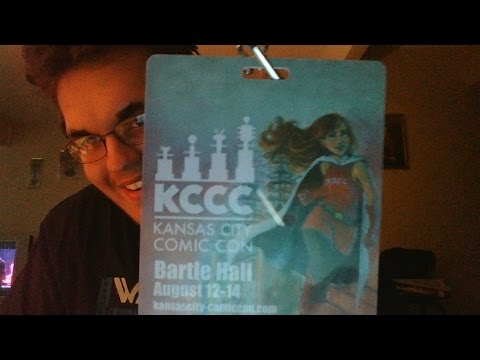 Kansas City Comicon Adventure (Vlog #1)