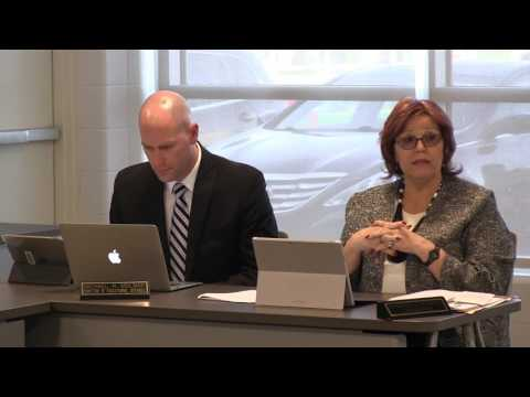 Amherst Board of Education Meeting: April 24, 2017
