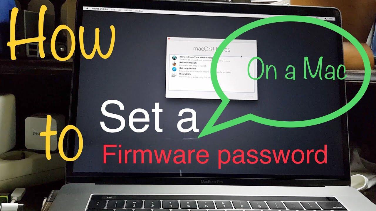 How to set a Firmware Password on a Mac